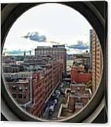 Portal To The City  Canvas Print