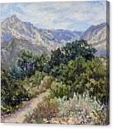 Porter Trail Canvas Print