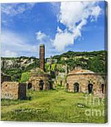 Porth Wen Brickworks V2 Canvas Print