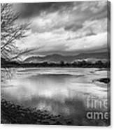 Porthmadog Lagoon Canvas Print