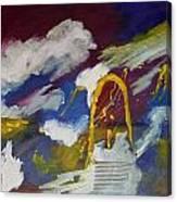Portico-1 Canvas Print
