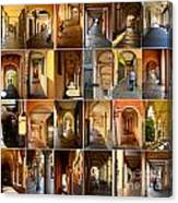 Porticos Of Padua Combined Canvas Print