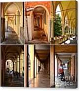 Porticos Of Padua No 4 Canvas Print
