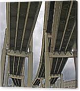 Portland Bridges 001 Canvas Print