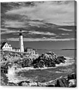Portland Head Light 19456b Canvas Print