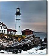 Portland Head Lighthouse 1 Canvas Print