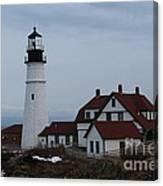 Portland Head Lighthouse 8529 Canvas Print