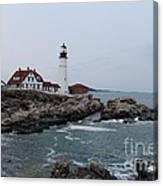 Portland Head Lighthouse 8557 Canvas Print