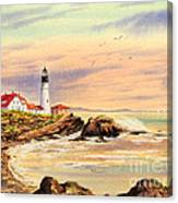 Portland Head Lighthouse Maine Canvas Print