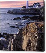 Portland Headlight Maine Canvas Print