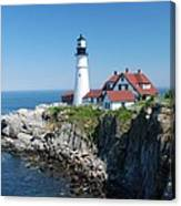 Portland Lighthouse 2 Canvas Print