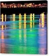 Portland Lights 22971 F Canvas Print