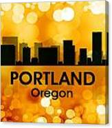 Portland Or 3 Canvas Print