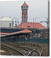 Portland Oregon Union Station Train Station Canvas Print