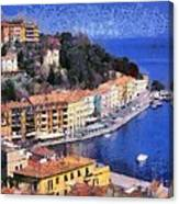 Porto Stefano In Italy Canvas Print