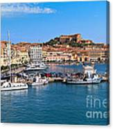 Portoferraio  Canvas Print