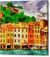 Portofino I Canvas Print