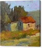 Portola Pastures Canvas Print