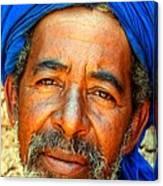 Portrait Of A Berber Man  Canvas Print