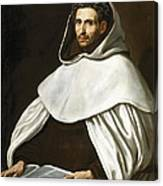Portrait Of A Carmelite Canvas Print