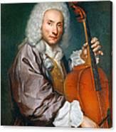 Portrait Of A Cellist Canvas Print