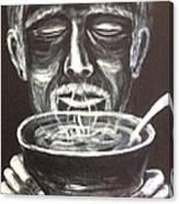 Portrait Of A Man  Canvas Print