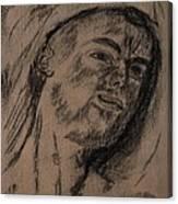 Portrait Of A Young Man Canvas Print