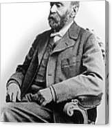 Portrait Of Alfred Nobel Canvas Print