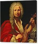 Portrait Of Antonio Vivaldi Canvas Print