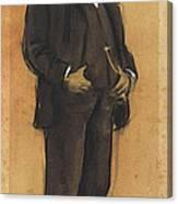 Portrait Of Arcadi Mas I Fondevila Canvas Print
