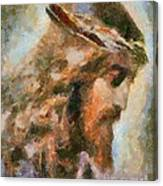 Portrait Of Christ Canvas Print