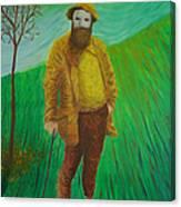 Portrait Of Claude Monet Canvas Print