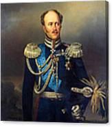 Portrait Of Count Alexander Benkendorff Canvas Print