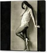 Portrait Of Dancer Ann Pennington Canvas Print