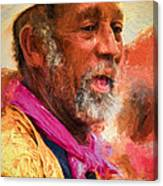 Portrait Of Dr. Luv - Painting Canvas Print
