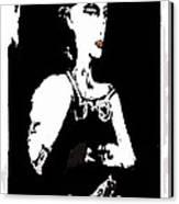 Portrait Of Drina Canvas Print
