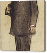 Portrait Of Emili Vilanova Canvas Print