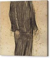 Portrait Of Enric Morera Canvas Print