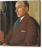 Portrait Of Isidor Polivnick Canvas Print