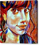 Portrait Of Ivana Canvas Print