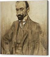 Portrait Of Jacinto Benavente Canvas Print