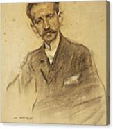 Portrait Of Jacinto Octavio Picon Canvas Print