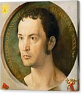 Portrait Of Johannes Kleberger Canvas Print