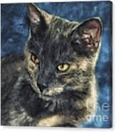 Portrait Of Kiara Canvas Print