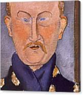 Portrait Of Leon Bakst Canvas Print