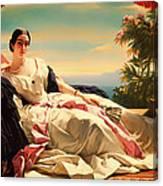 Portrait Of Leonilla Canvas Print