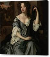 PORTSMOUTH DUCHESS LOUISE DE KEROUALLE PORTRAIT PAINTING ART REAL CANVAS PRINT