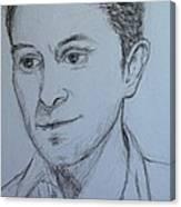Portrait Of Mark Owen Canvas Print