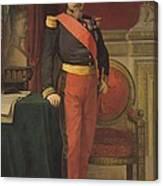 Portrait Of Napoleon IIi 1808-73 1862 Oil On Canvas Canvas Print