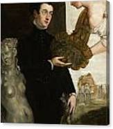 Portrait Of Ottavio Strada Canvas Print